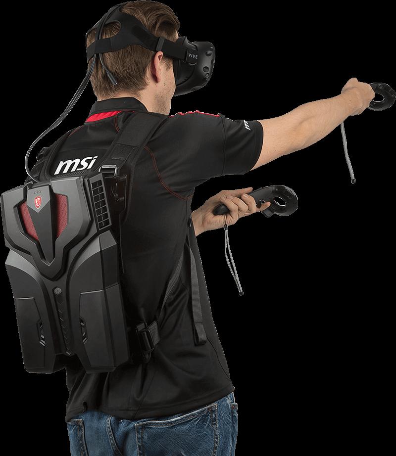 """MSI presenta la """"VR One"""", una PC mochila para la realidad virtual 2"""
