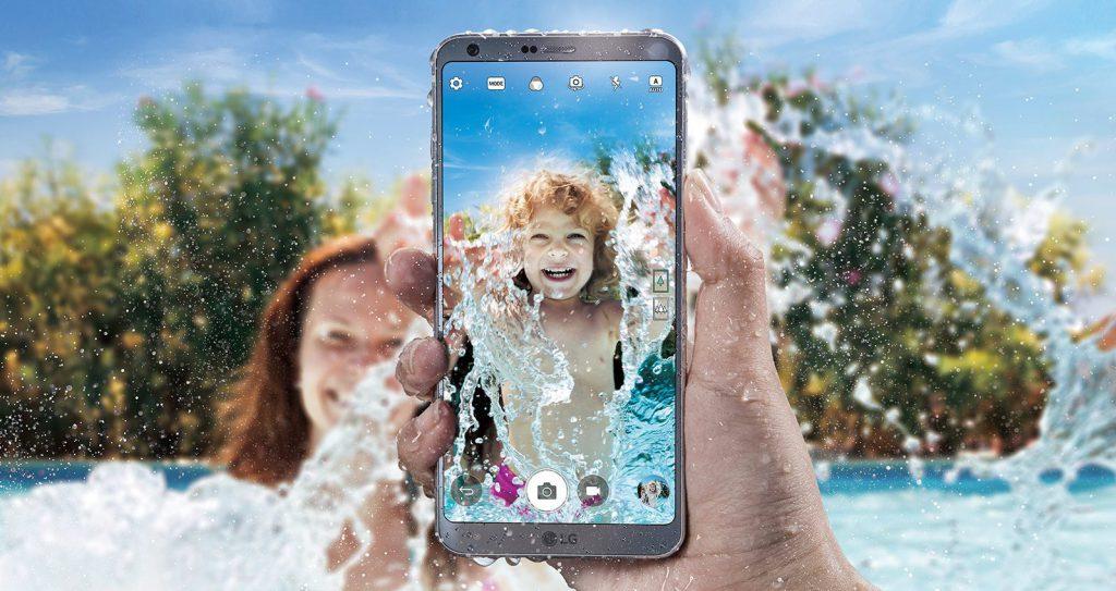 LG G6 resistente al agua