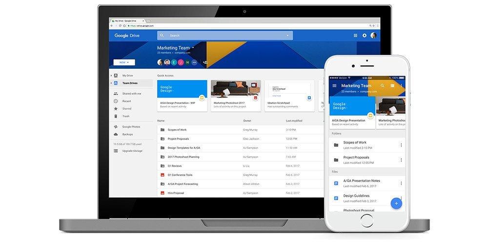 Google anuncia un montón de novedades para Drive orientado al sector empresarial 5