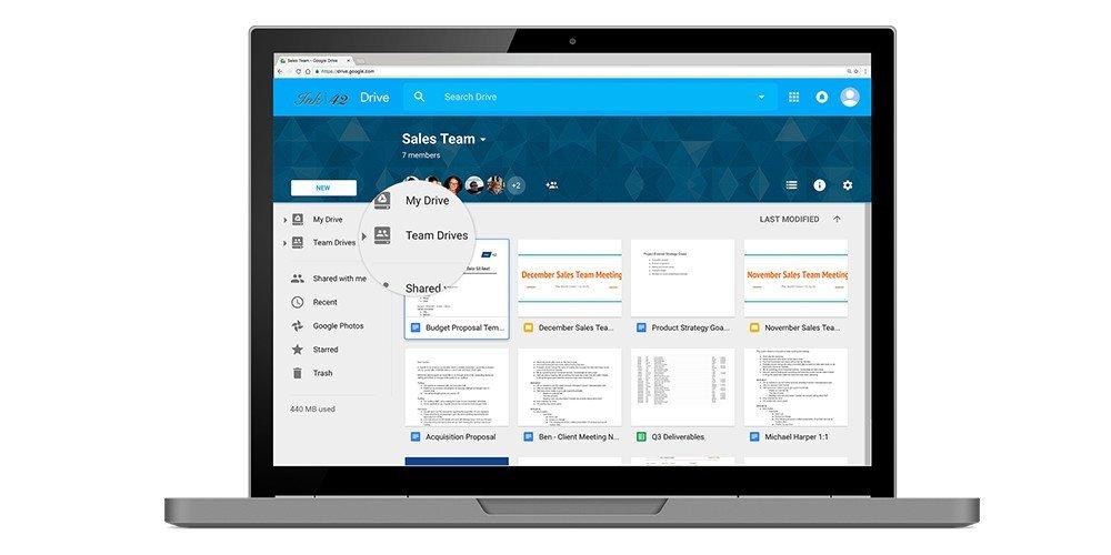 Google anuncia un montón de novedades para Drive orientado al sector empresarial 2