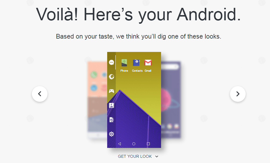 My Android Taste Page