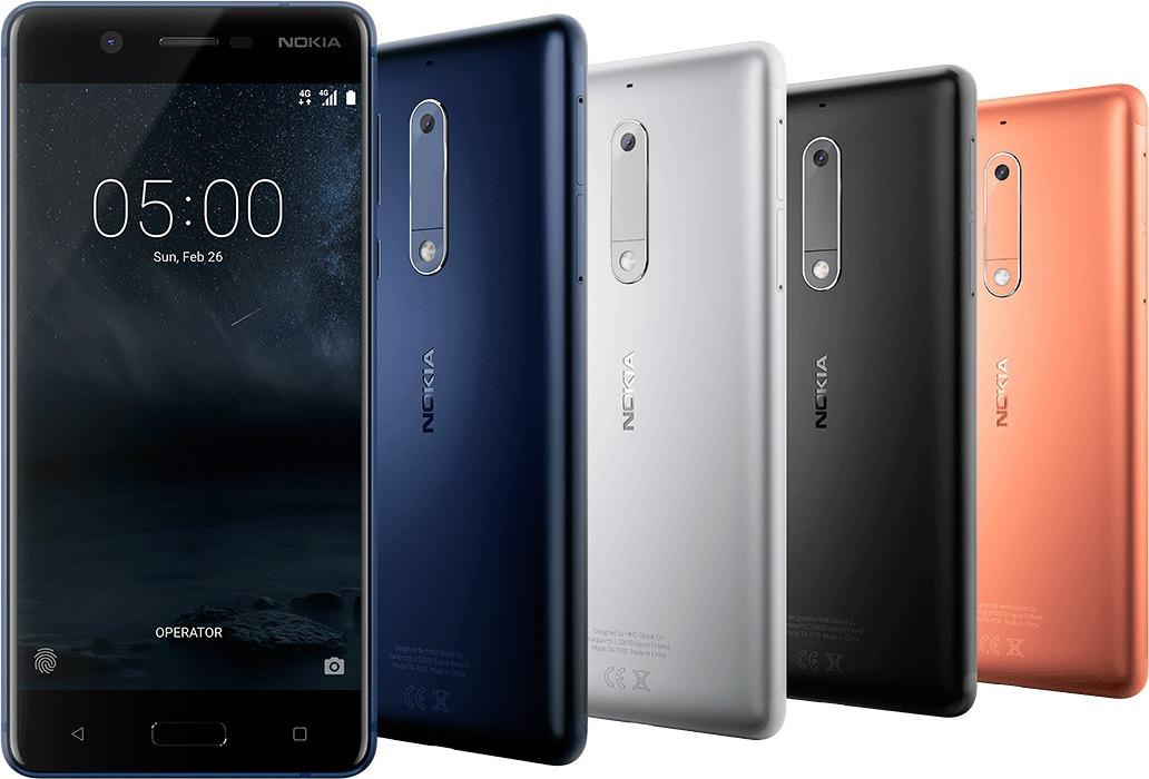 Nokia 5 es el nuevo móvil de la marca para la gama media-baja 1