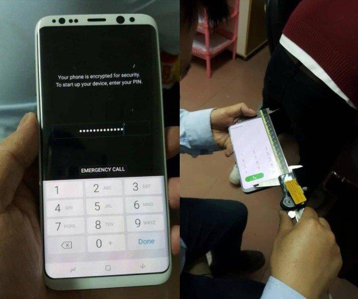 El Samsung Galaxy S8, ¿con carcasa en blanco mate? 1