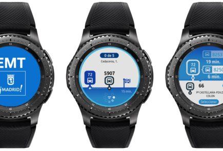 EMT Madrid renueva su app para los Samsung Gear S3 y Gear S2