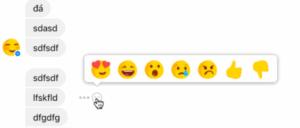 Facebook ya prueba las Reacciones en Messenger 2