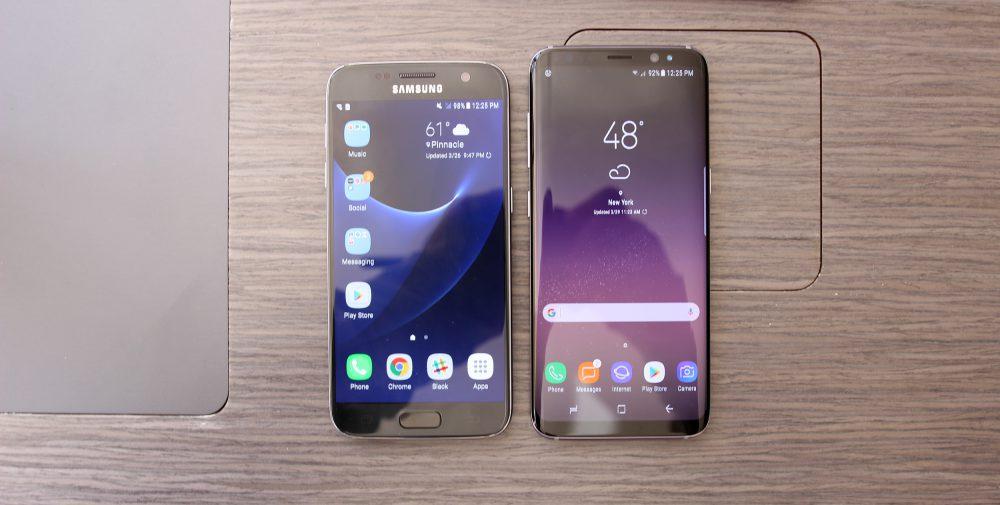 Así se ven los Samsung Galaxy S8 comparados con otros terminales top 2