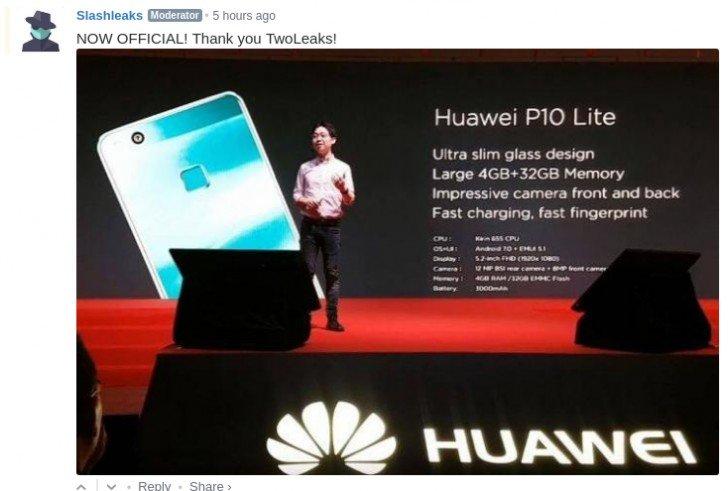 Huawei P10 Lite, ya sabemos casi todo sobre él y te lo contamos 1