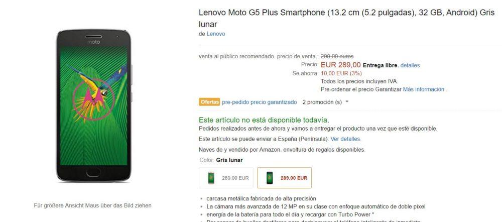 Motorola G5 Walmarkt