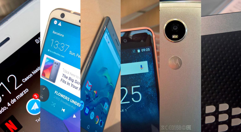 Los mejores teléfonos del MWC 2017 cara a cara 1