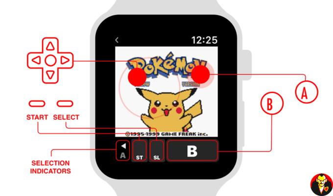 AppleWatch Pokemon Amarillo