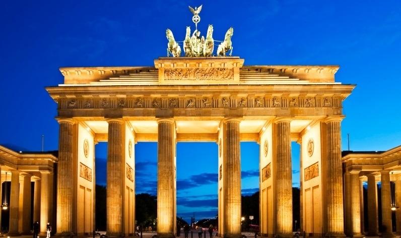 Alemania - Puerta de brandeburgo - Reconocimiento de voz
