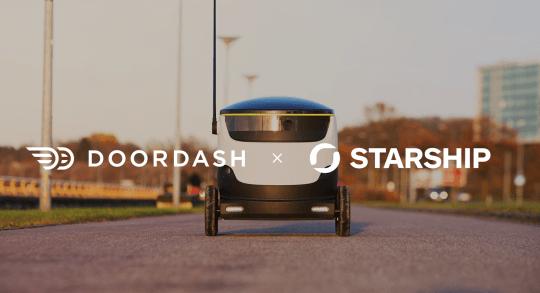 La comida a domicilio de DoorDash, en California te la trae un robot