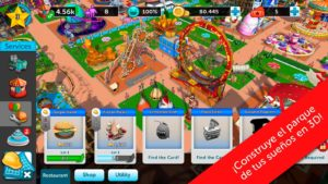 RollerCoaster Tycoon Touch, ya disponible para iOS y Android 3