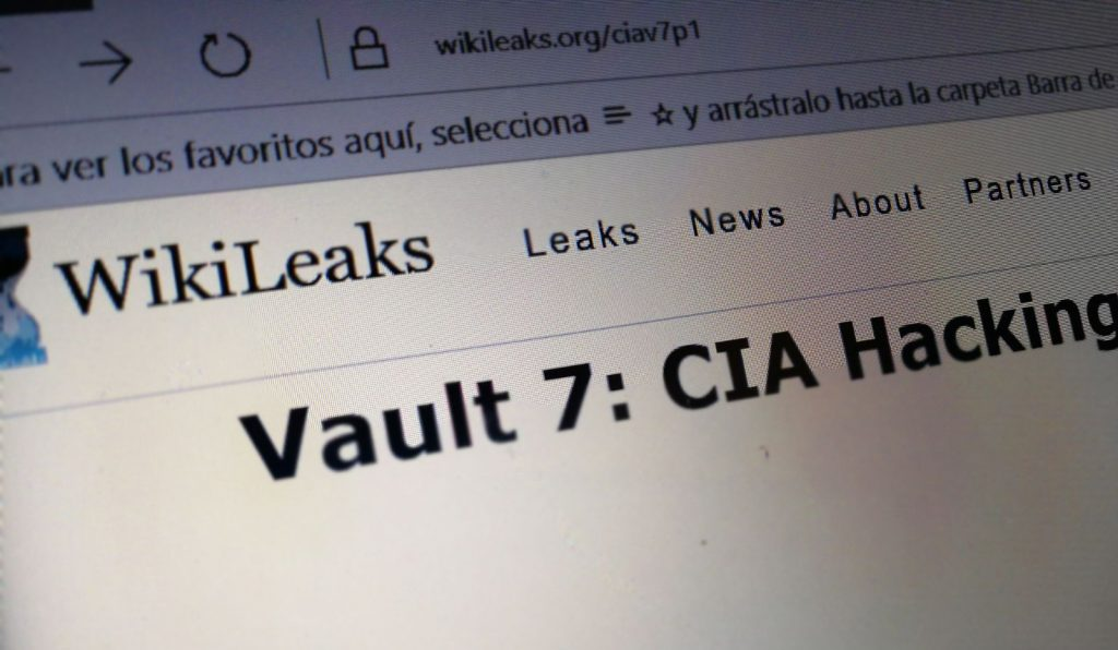 wikileaks vault 7