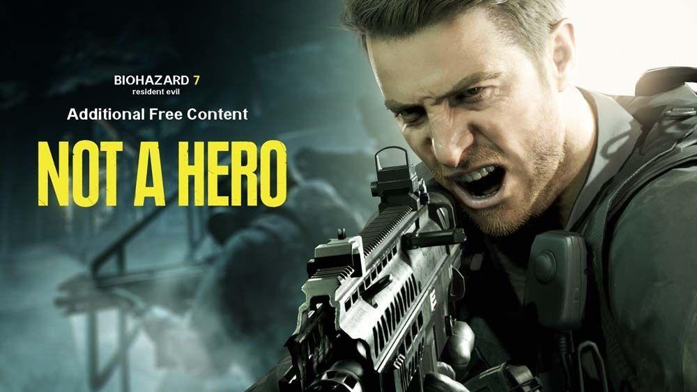 """Not a Hero"" el primer DLC de Resident Evil 7 sufre un considerable retraso 1"