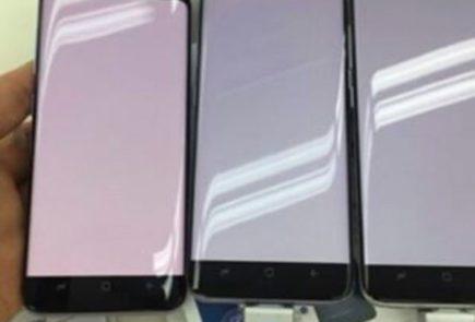 Galaxy S8 tono rojo