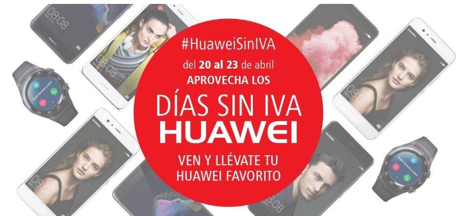 ¡Corre!, aprovecha los Días sin IVA de Huawei 1