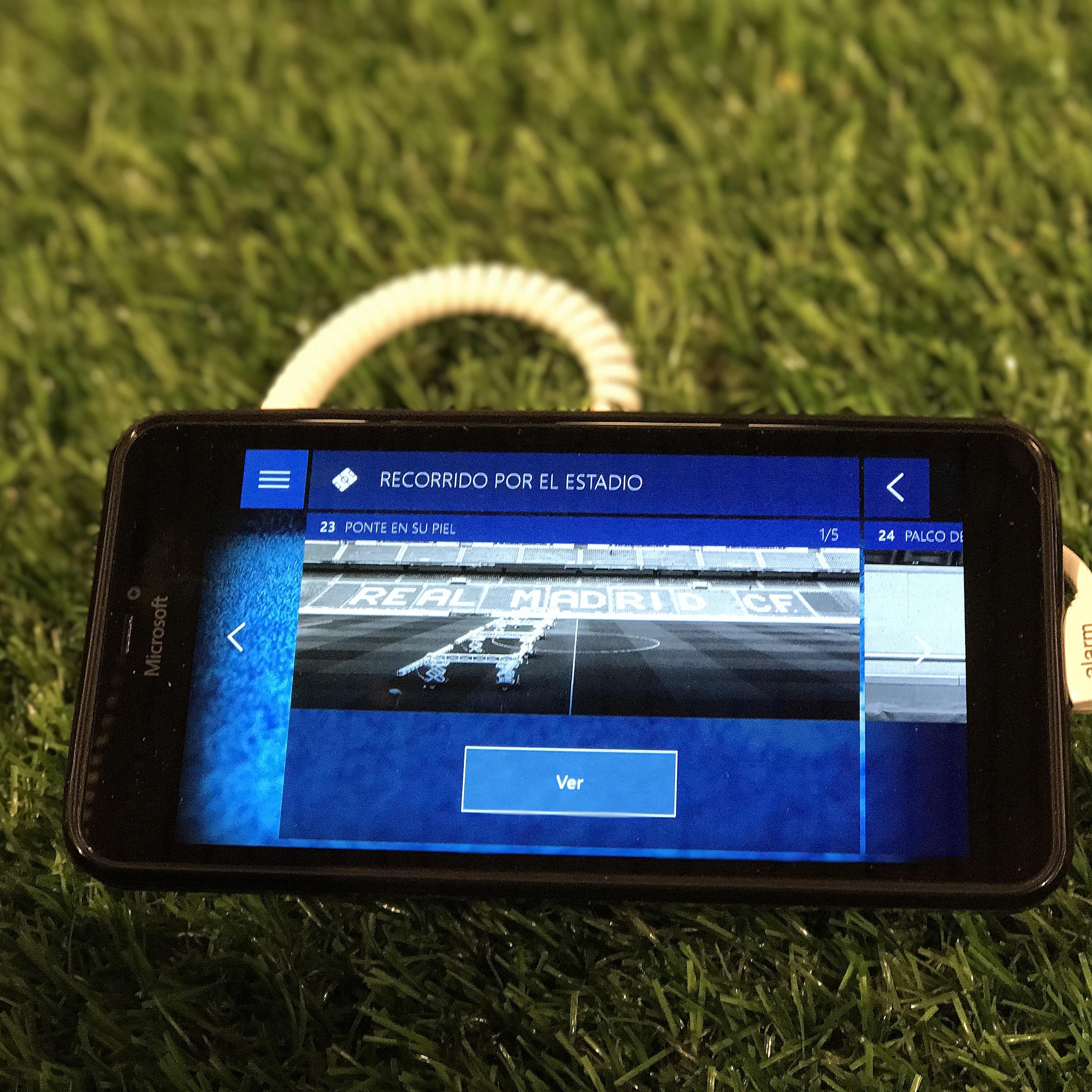 El Tour del Bernabéu estrena su Audioguía interactiva 2