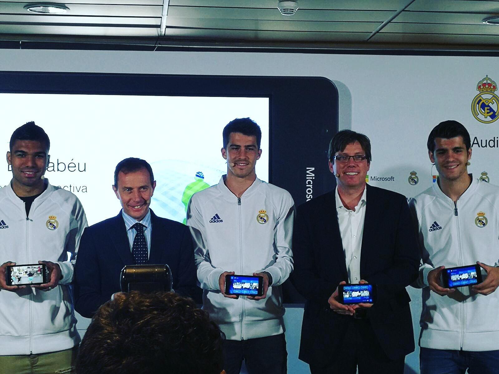 El Tour del Bernabéu estrena su Audioguía interactiva 1
