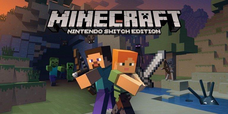 Minecraft Nintendo Switch Edition llegará el 11 de mayo 1
