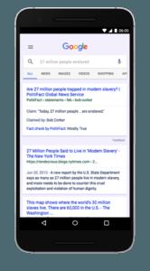verificación de hechos de Google