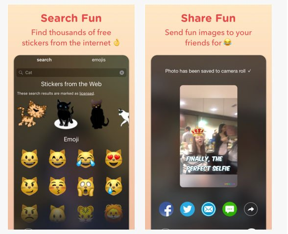 Sprinkles, la nueva aplicación fotográfica de Microsoft para iOS 1
