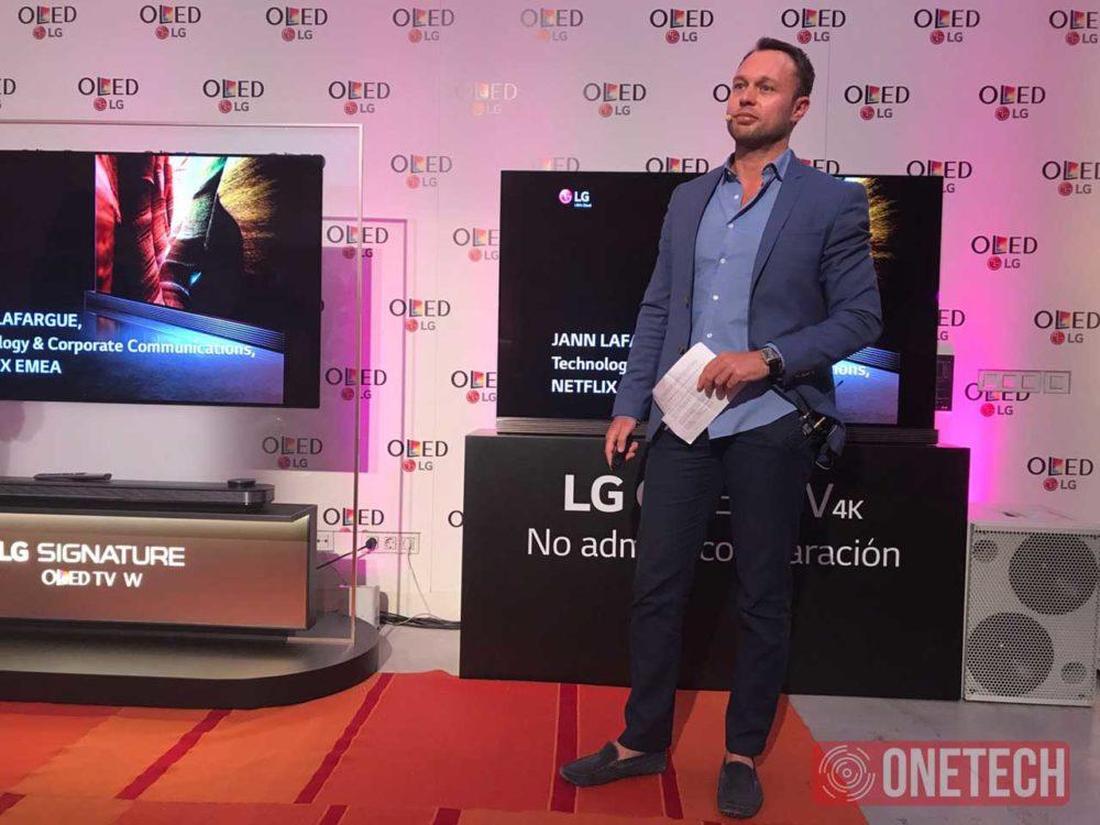 LG nos presenta junto a Netflix sus nuevos televisores OLED 3