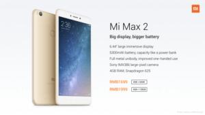 Xiaomi Mi Max 2, este es el nuevo gigante de la compañía 6