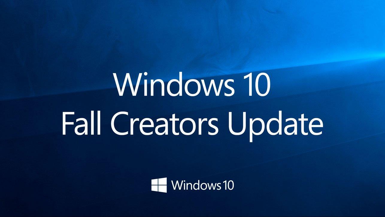 Fall Creators Update es la nueva versión de Windows 10 1