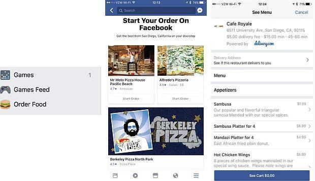 facebook comida