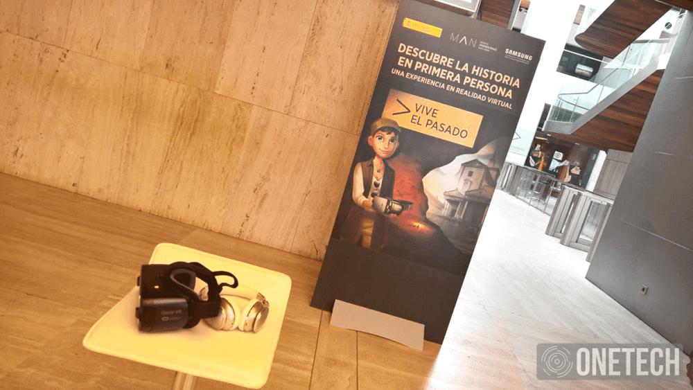 Historia en Realidad Virtual de Samsung y el Museo Arqueológico Nacional