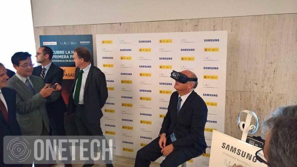 Fernando Buezo  Historia en Realidad Virtual de Samsung y el Museo Arqueológico Nacional