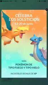 ¡Celebra los Solsticios en el nuevo evento de Pokémon Go! 2