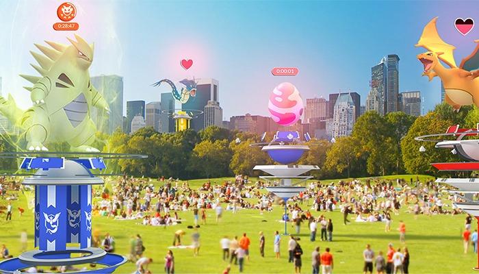 Pokémon Go prepara su gran actualización con las incursiones y los nuevos gimnasios 1