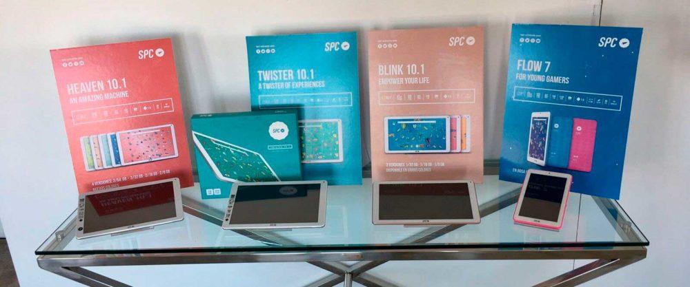 La compañía española SPC actualiza su tablet insignia y lanza otros tres nuevos modelos 1