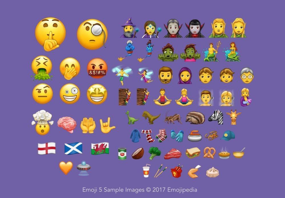 Estos son los 69 nuevos emojis que llegarán a finales de año 1