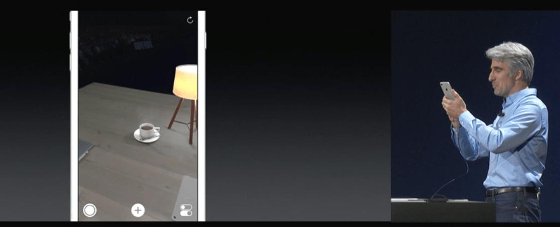 Apple presenta su plataforma de realidad aumentada con iOS 11 2