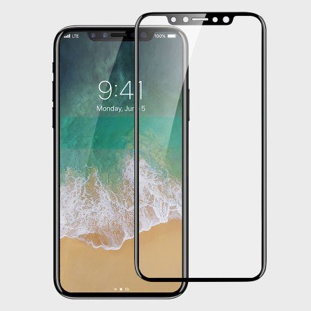 Un delgado protector de pantalla nos desvela los ínfimos marcos del iPhone 8 2