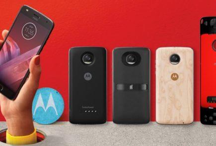 Motorola anuncia su regreso a España con el lanzamiento del Moto Z2 Play y los Moto Mods 6