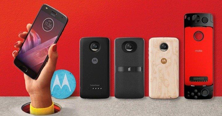 Motorola anuncia su regreso a España con el lanzamiento del Moto Z2 Play y los Moto Mods 1