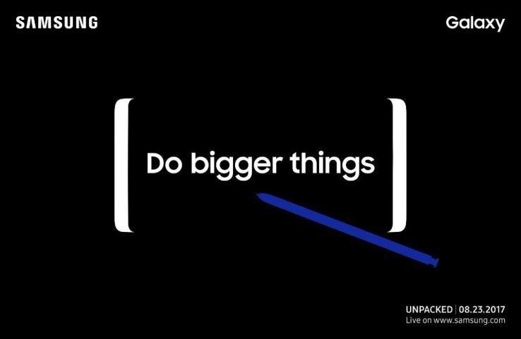 Elsegundo evento Unpacked de Samsung será el 23 de Agosto. ¿Note 8 a la vista? 1