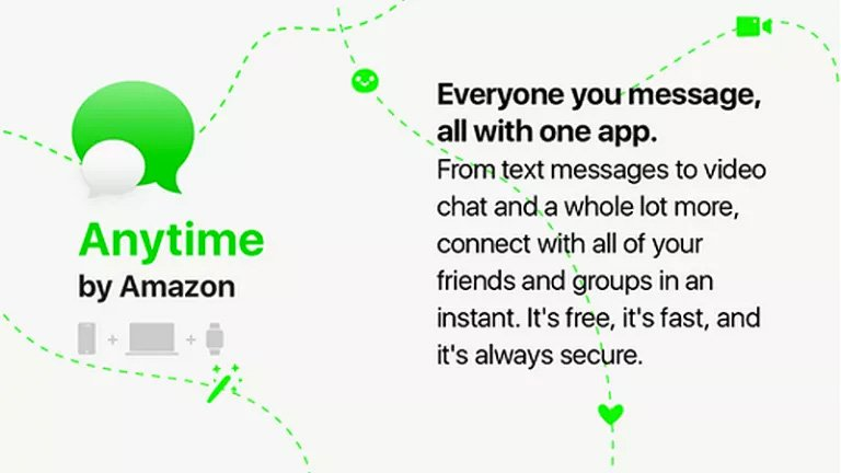 Amazon Anytime, una nueva competencia para WhatsApp 1