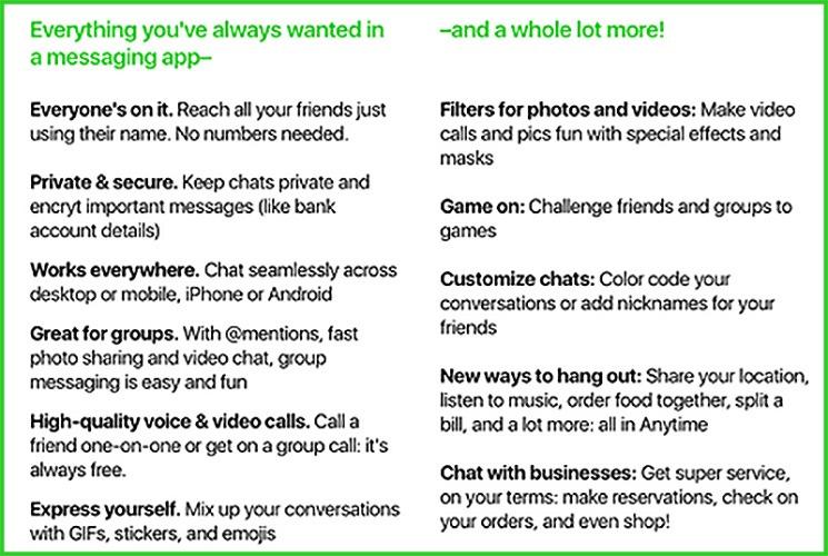 Amazon Anytime, una nueva competencia para WhatsApp 2
