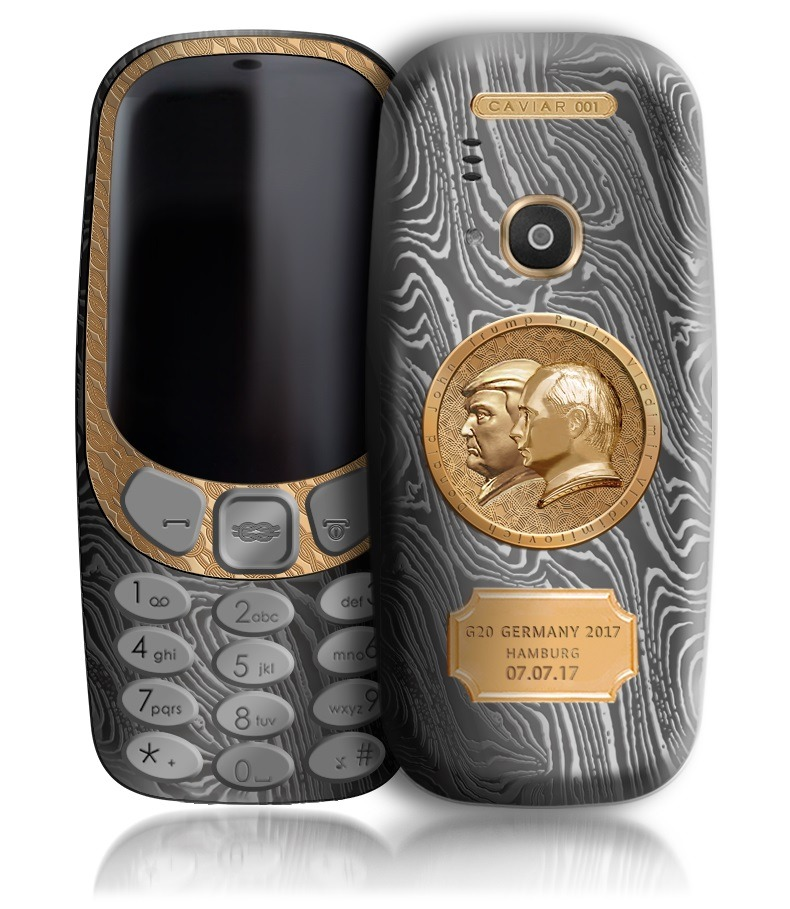 Nokia 3310 Trump y Putin