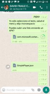 WhatsApp ya permite el envío de cualquier tipo de documento y otras muchas novedades 1