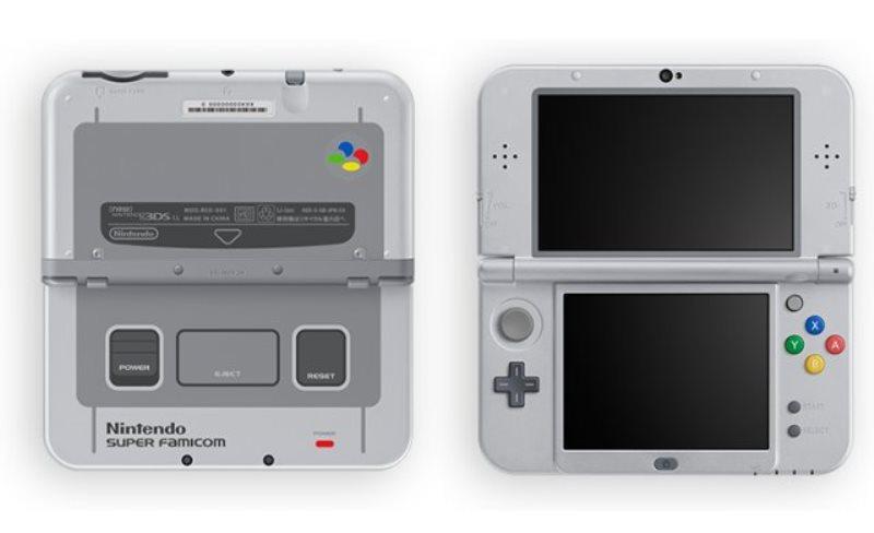 [Gamescom 2017] La nueva Nintendo 3DS XL rinde tributo a la Super Famicom 1
