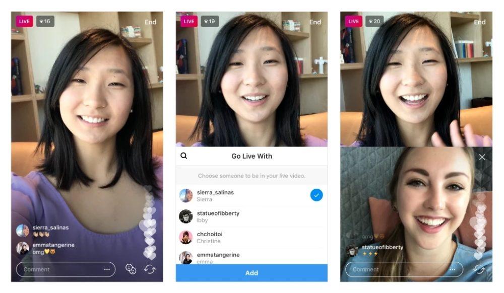 Instagram comenzará a desplegar la posibilidad de invitar a tus amigos a los vídeos en directo en los próximos días 1