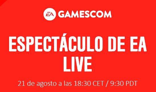 EA Live en la gamescom 2017, sigue la conferencia en directo el 21 de agosto 2