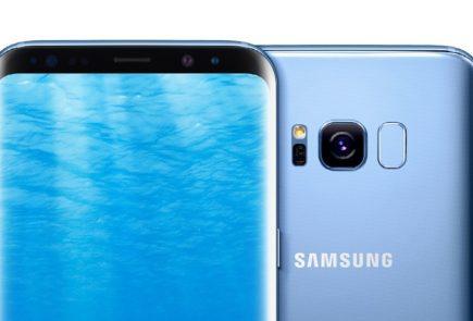 Galaxy S8 azul