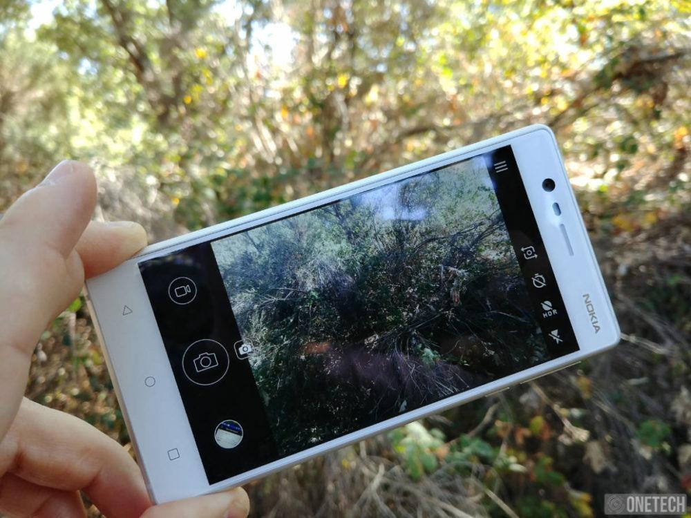 Nokia 3 cámara